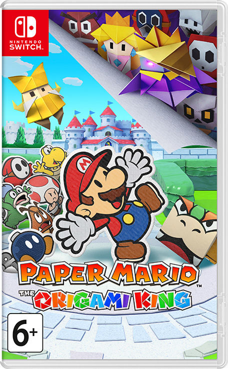 Игра Paper Mario: The Origami King (Nintendo Switch) (eng)