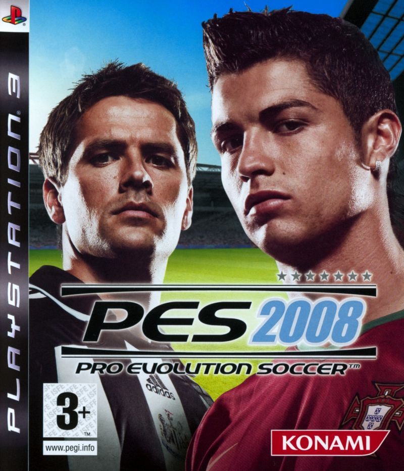 Игра PES 2008: Pro Evolution Soccer (PS3)