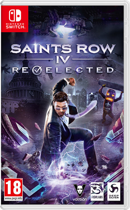 Игра Saints Row IV: Re-Elected (Nintendo Switch) (rus sub)