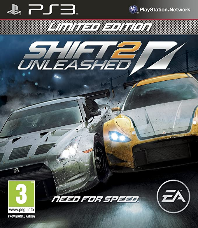 Игра Need for Speed Shift 2: Unleashed (Limited Edition) (PS3) (eng) б/у