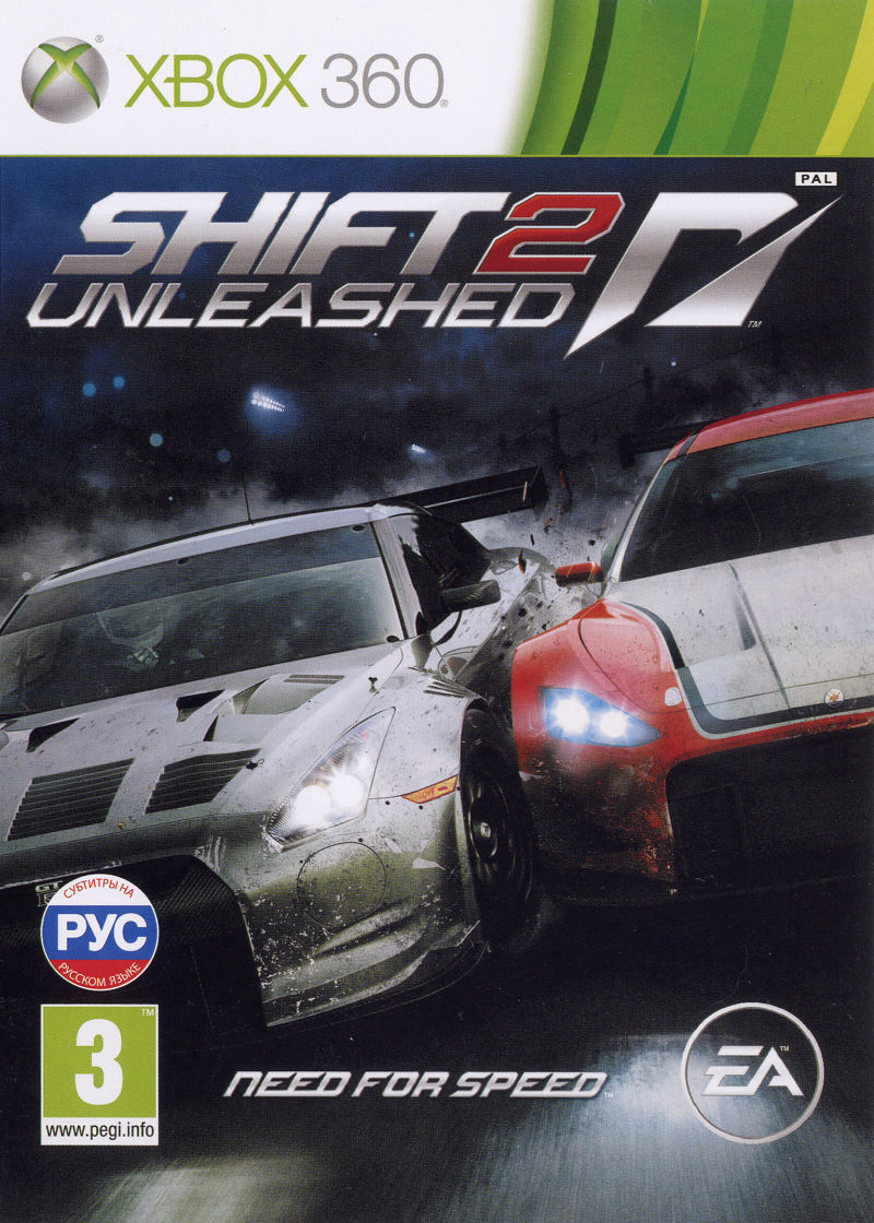 Игра Shift 2: Unleashed (Xbox 360) б/у