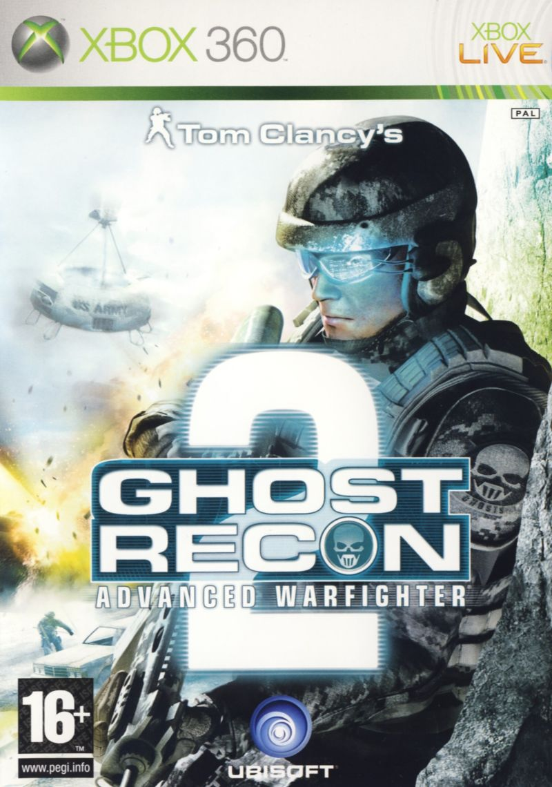 Игра Tom Clancy's Ghost Recon Advanced Warfighter 2 (Xbox 360) б/у