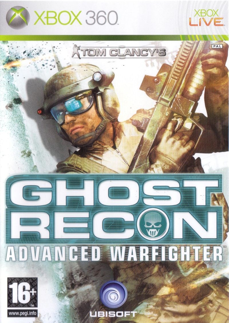 Игра Tom Clancy's Ghost Recon: Advanced Warfighter (Xbox 360) б/у