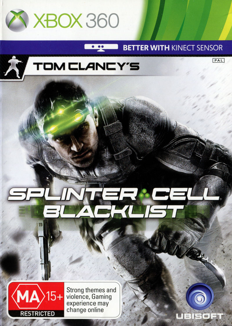 Игра Tom Clancy's: Splinter Cell Blacklist (Xbox 360) б/у