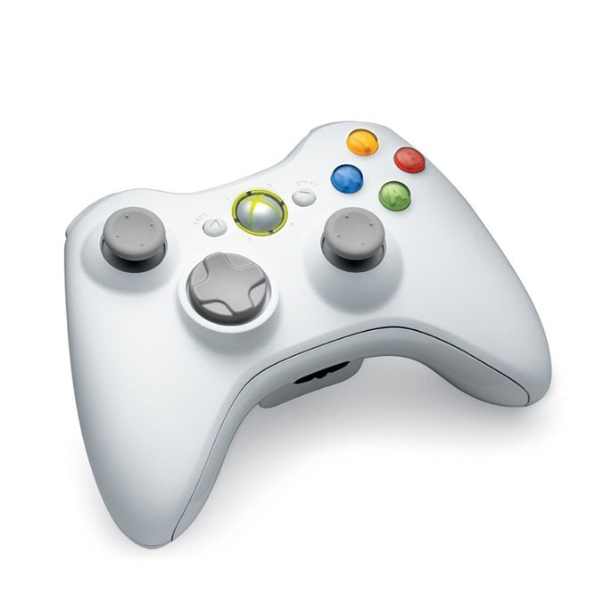 White xbox one controller back