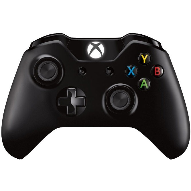 Геймпад Microsoft Controller for Xbox One, черный б/у