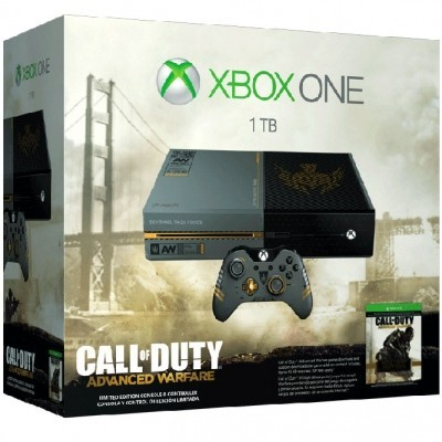 Xbox One Call Of Duty®: Advanced Warfare Limitted Edition б/у