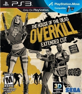 The house of dead overkill (PS3) б/у