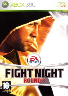 Игра EA Sports Fight Night Round 3 (Xbox 360) б/у