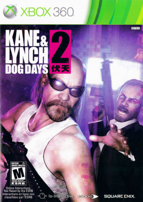 Игра Kane and Lynch 2: Dog Days (Xbox 360) б/у