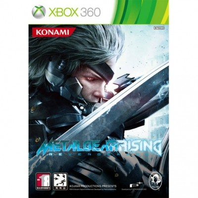 Metal Gear Rising: Revengeance (Xbox 360) б/у