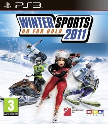 winter sports go for gold 2011 (PS3) б/у