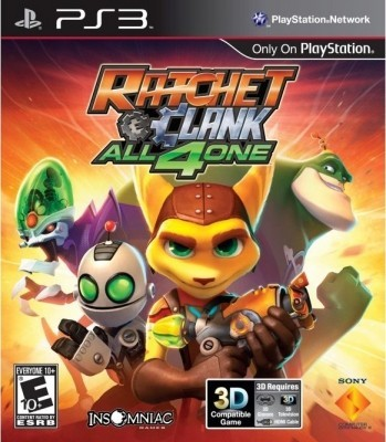 Ratchet  and  Clank: all 4one (PS3) б/у
