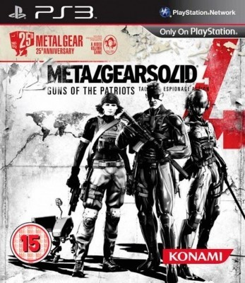 Игра Metal Gear Solid IV: Guns of the Patriots (PS3) б/у