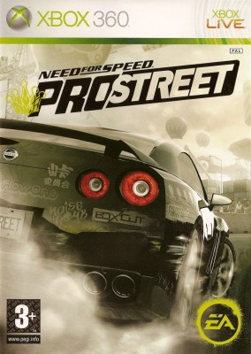 Игра Need for Speed: Pro Street (Xbox 360) б/у