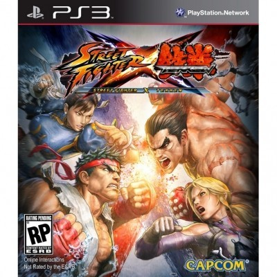 Street Fighter X Tekken (PS3) б/у