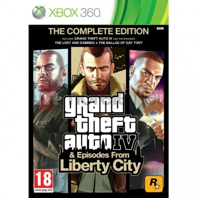 GTA Episodes from liberty city (Xbox 360) б/у