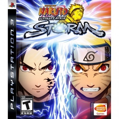 Naruto Ultimate ninja Storm (PS3) б/у