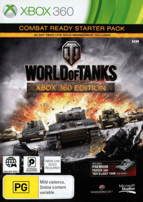 Игра World of Tanks (Xbox 360) б/у