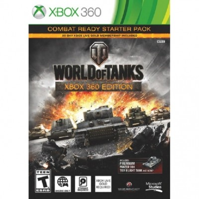 World of tanks (Xbox 360) б/у