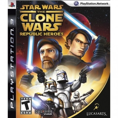 Star Wars: The Clone Wars - Republic Heroes (PS3) б/у