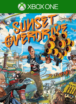 Игра Sunset Overdrive (Xbox One) б/у
