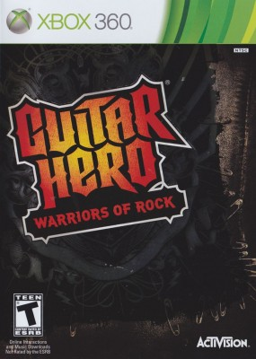 Игра Guitar Hero: Warriors of Rock (Xbox 360) б/у