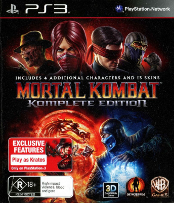 Игра Mortal Kombat: Komplete Edition (PS3) (eng)