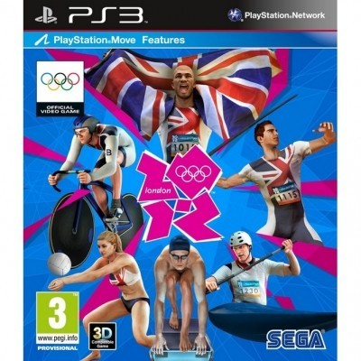 London 2012: The Official Video Game (PS3, PS Move) б/у