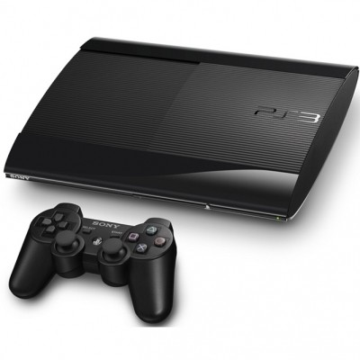 PS3 Super Slim 12 Gb б/у