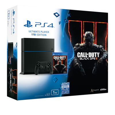 PlayStation 4 1TB Call of Duty: Black Ops 3 Bundle