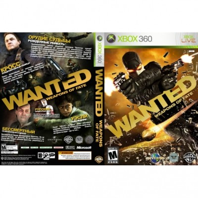 Wanted: Weapons of Fate (Xbox 360) б/у