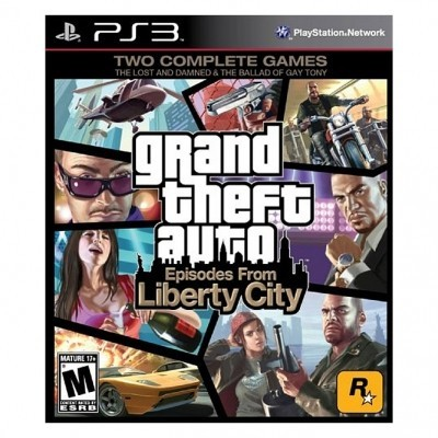 GTA Episodes from liberty city (PS3) б/у