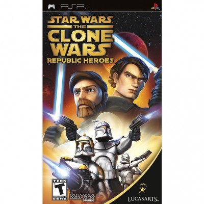 Star wars the clone wars: Republic heroes (PSP)