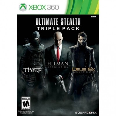 Ultimate Stealth: Triple Pack (Xbox 360) б/у