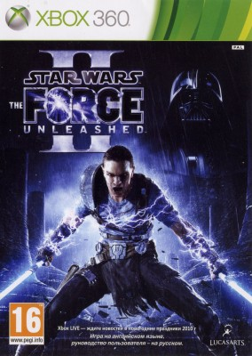 Игра Star Wars: Force Unleashed II (Xbox 360) б/у