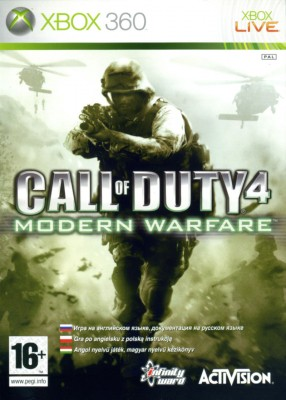 Игра Call of Duty 4: Modern Warfare (Xbox 360)