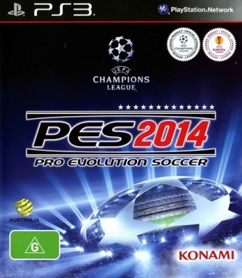 Игра PES 2014: Pro Evolution Soccer (PS3) б/у