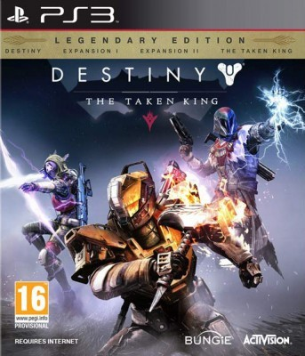 Игра Destiny: The Taken King - Legendary Edition (PS3) б/у