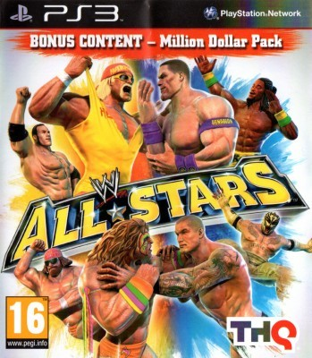 Игра WWE All Stars (PS3) б/у