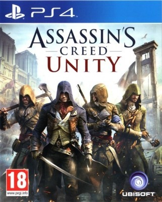 Игра Assassin's Creed: Unity (Единство) (PS4) б/у (rus)