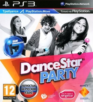 Игра Dance Star Party (PS3) б/у