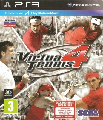 Игра Virtua Tennis 4 (PS3) б/у