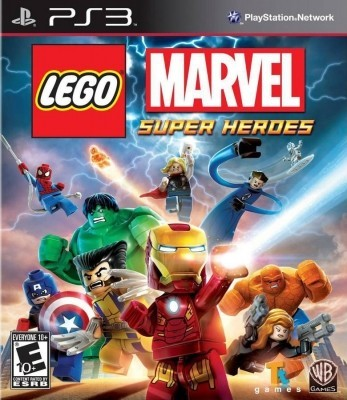 Игра LEGO Marvel Super Heroes (PS3) б/у (rus sub)