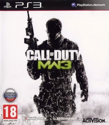 Игра Call of Duty Modern Warfare 3 (PS3) б/у