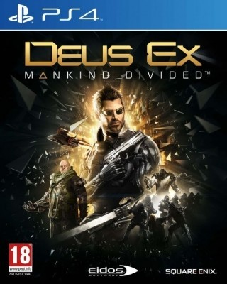 Игра Deus Ex: Mankind Divided (PS4) б/у