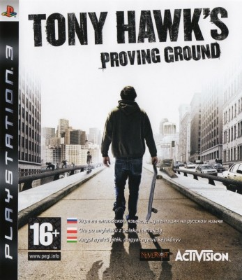 Игра Tony Hawk's Proving Ground (PS3) б/у