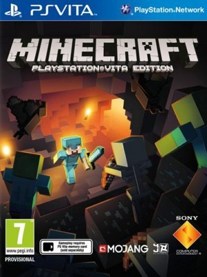 Игра Minecraft: PlayStation Vita Edition (PS Vita) б/у