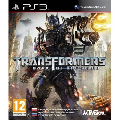 Игра Transformers: Dark of The Moon (PS3) б/у