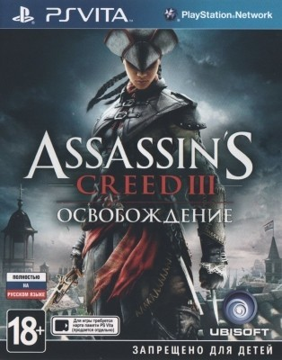 Игра Assassin's Creed 3: Освобождение (PS Vita) б/у
